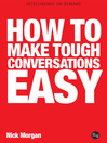 How to Make Tough Conversations Easy (eBook)